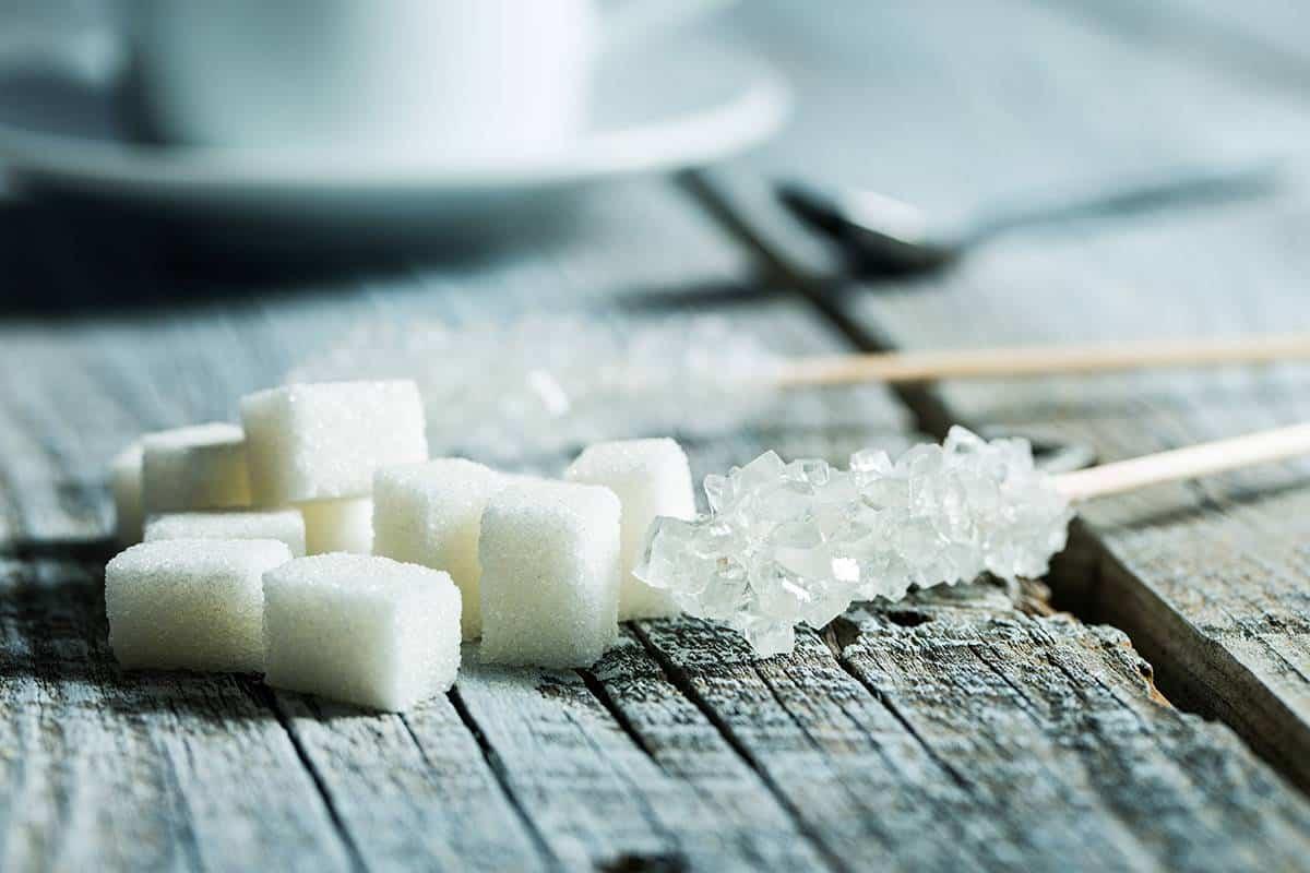 Kristallisierter Zucker