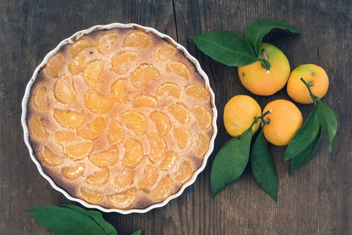 Mandarinen-Bananen-Kuchen